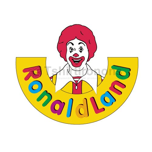 Mcdonalds T-shirts Iron On Transfers N7334